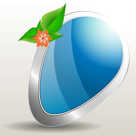 Eco Speech Bubble Vector