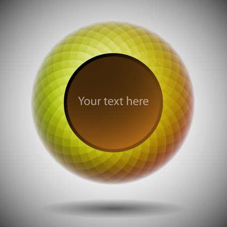 Abstract Speech Bubble Design Vector