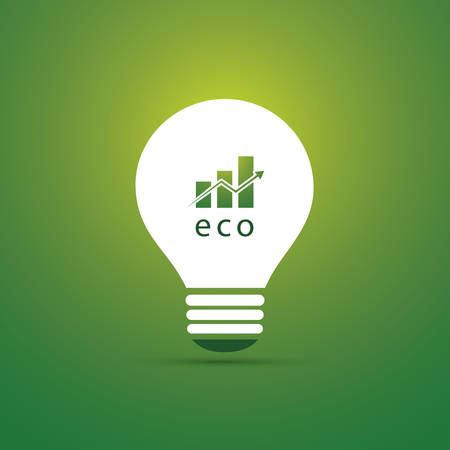 Green Eco Energy Concept Icon