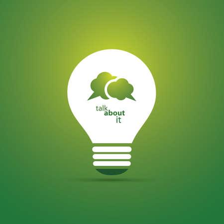sostenibilit�: Verde Eco Energy concetto icona - Talk About Sostenibilit�