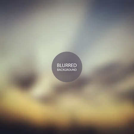 dublin: Abstract Background - Blurred Image - Sunset