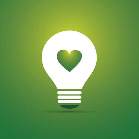 welfare: Green Eco Energy Concept Icon - Eco Friendly