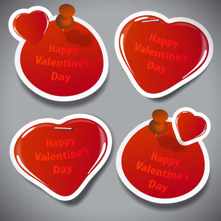 friendliness: Valentines Day Stickers