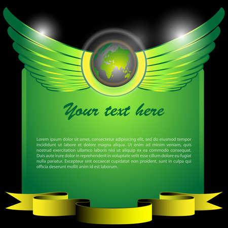 espiritu santo: Winged Mundial - Banner Concept