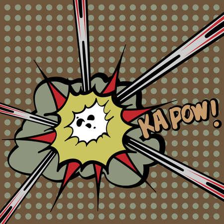 Explosion - Comic Design