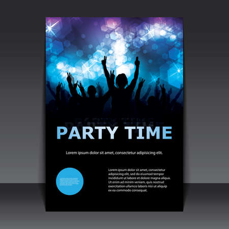 commercial event: Flyer or Cover Design - Party Time