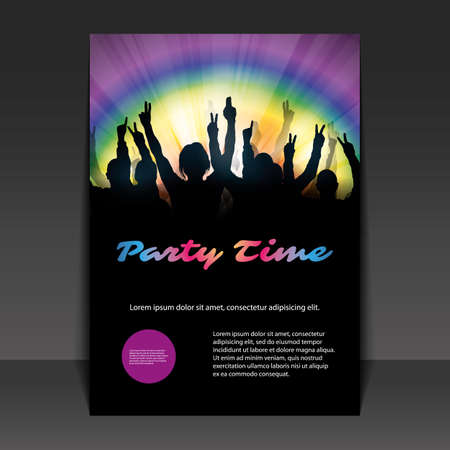 rave: Flyer or Cover Design - Party Time
