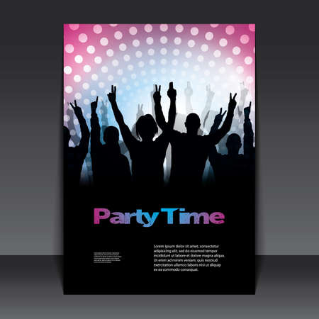 party time: Flyer or Cover Design - Party Time