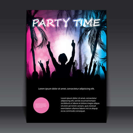 party people: Flyer or Cover Design - Beach Party