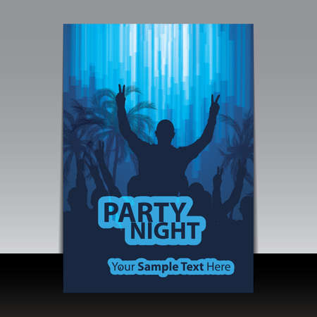 night club: Flyer or Cover Design - Party Night