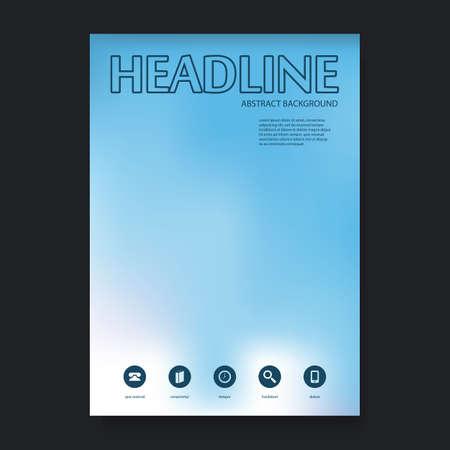portadas de libros: Flyer o dise�o de portada plantilla de fondo para su empresa u Identidad Corporativa