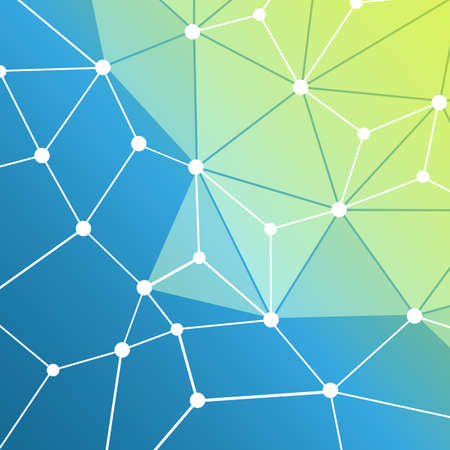 Connections - Molecular, Global, Business Network Design - Abstract Mesh Background