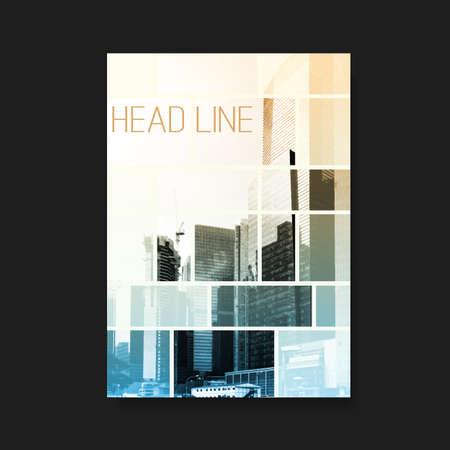 portadas: Flyer o Diseño de la portada Vectores
