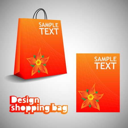 christmas debt: Shopping Bag Design