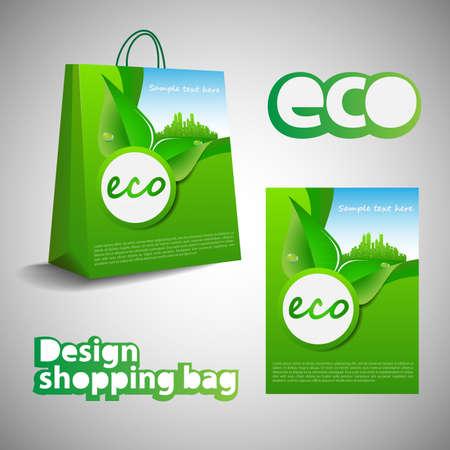 environmentally: Eco Shopping Bag Design