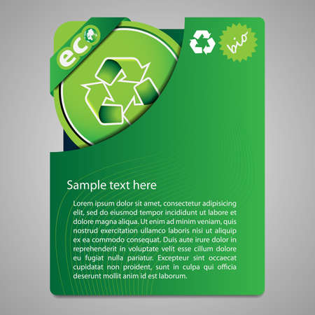 environmentally friendly: Folder Design