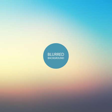 imagen: Fondo abstracto - imagen borrosa de la puesta del sol Vectores