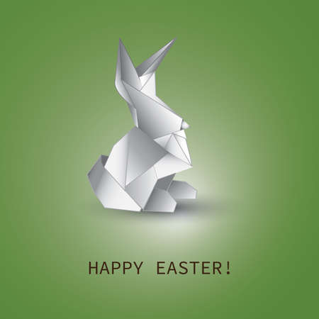 lapin silhouette: Easter Background Design Mod�le