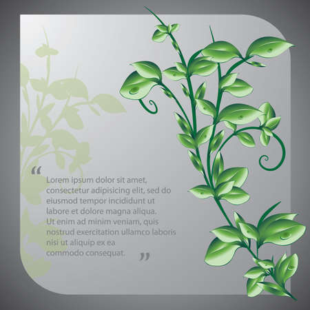 ozone friendly: Eco Concept Background