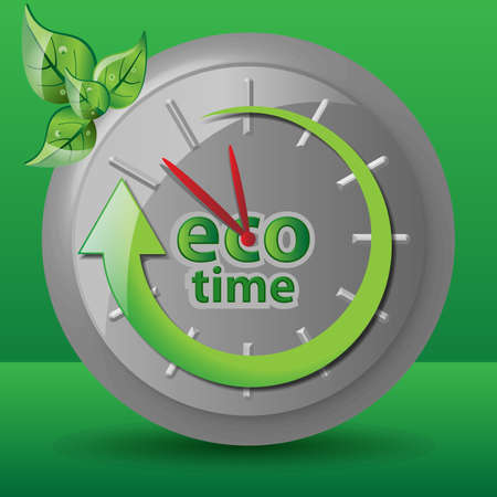 ecological: Ecological Clock Concept