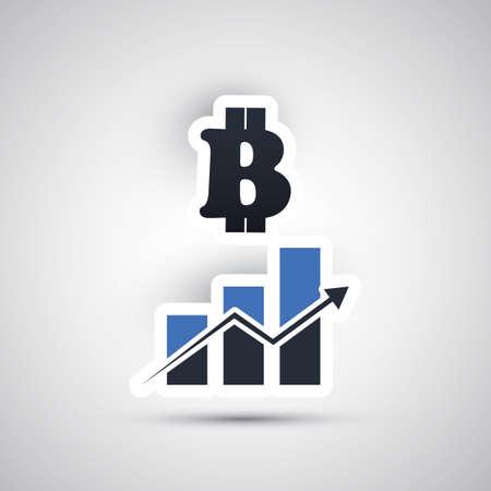 incognito: Success - Vector Illustration of Bitcoin Design