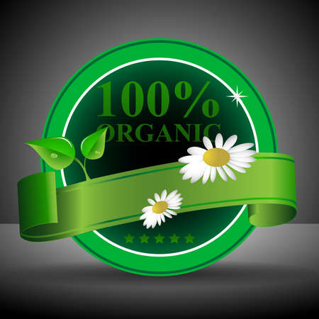 Green Eco Friendly Label or Badge Template