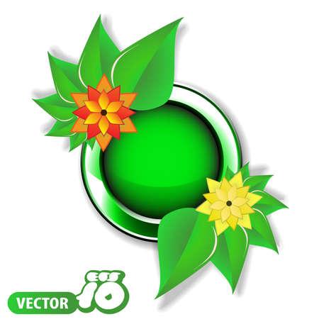 Speech Bubble Concept  Spring Vector