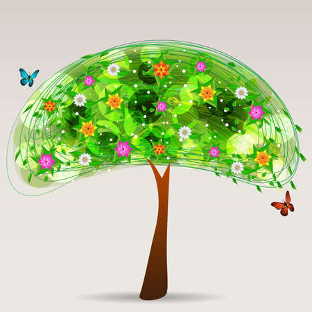 bloomed: Multicolored Tree Design