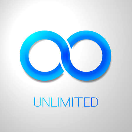 Unlimited Symbol Icon Design Vectores