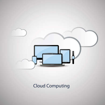 social system: Cloud Computing Concept Design with Mobile Devices and Clouds Background