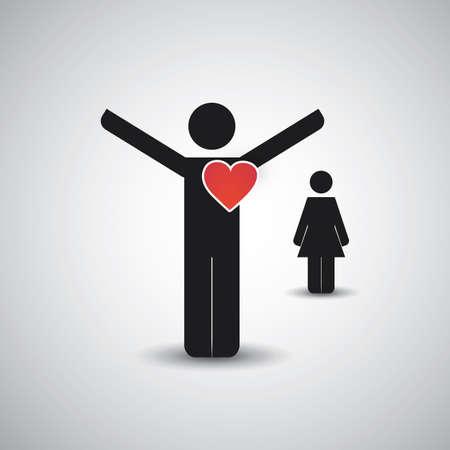 marry me: Love  Icon Design