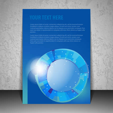 Business Flyer or Cover Design Vector