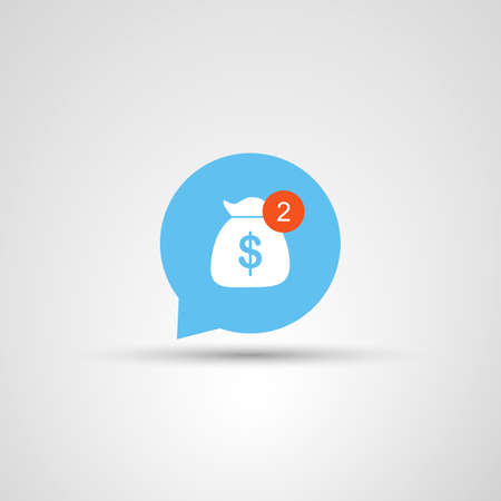 more money: Icon Design  Need More Money Illustration