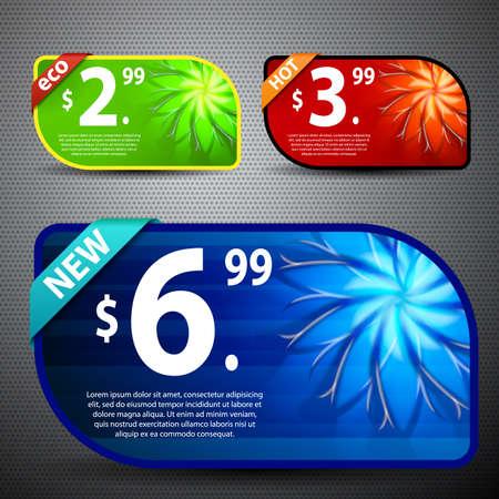 coupon template: Website Banner Set