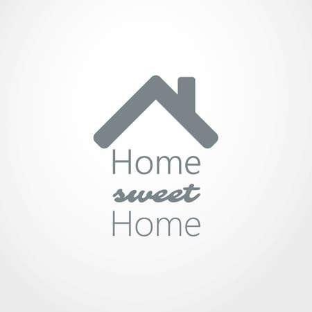 Home Sweet Home - Dak van het Huis pictogram ontwerp
