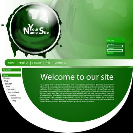 the template: Website Template