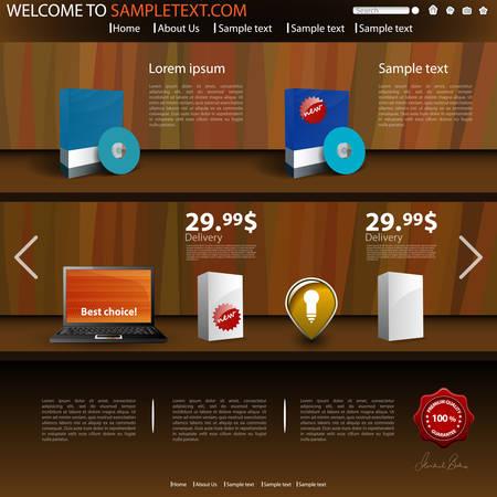 Webstore Template. responsive storefront magelia magelia webstore ...