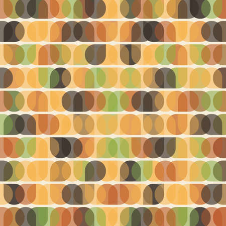 shifted: Abstract Retro Geometric Pattern Background Design Illustration