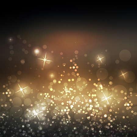 star bright: Sparkling cubierta plantilla de dise�o con fondo borroso Resumen