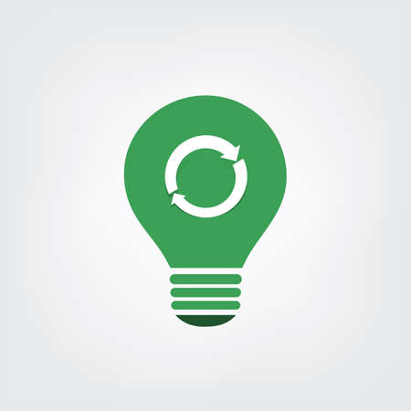 resource: Green Eco Energy Concept Icon - Recycling