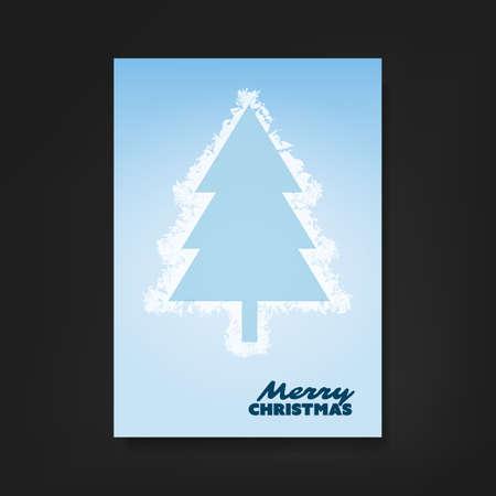fiambres: Aviador o de la cubierta con el árbol de navidad congelado