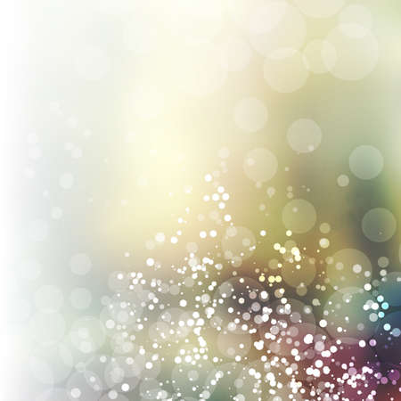 gold brown: Sparkling Cover Design Template with Abstract, Blurred, Colorful Background