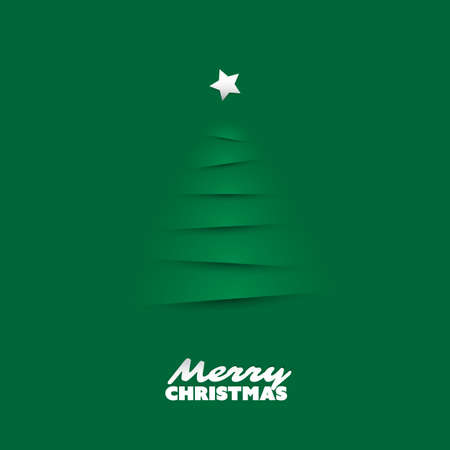 hope symbol of light: Modern Abstract Christmas Greetings Card Design With Christmas Tree Background