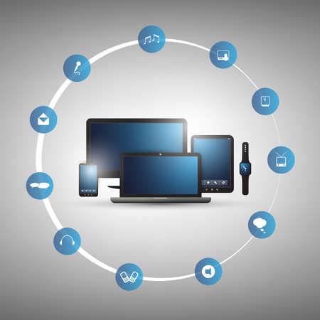 tecnología informatica: Cloud Computing y redes Design Concept