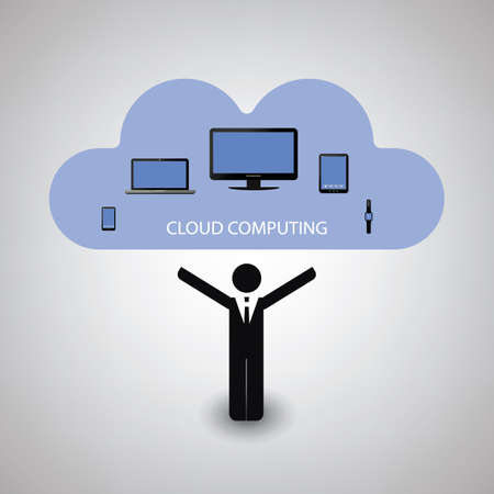 mobile devices: Cloud Computing Concept Design With Various Mobile Devices