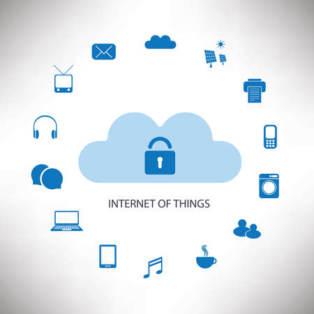internet safety: Internet Of Things Concept Design