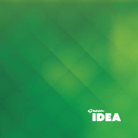 spotted line: Green Idea - Eco, Bio, Nature Background Design Template