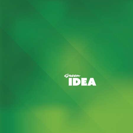 Green Idea - Eco, Bio, Nature Background Design Template