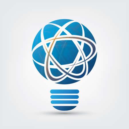 atomic energy: Bulb - Network, Atomic Energy Design Concept