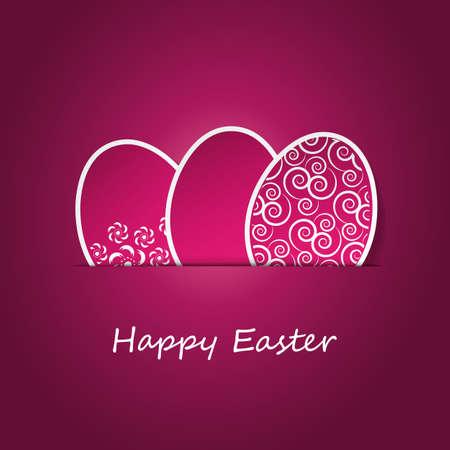 Feliz Pascua Ilustración de vector